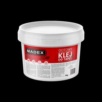 Klej do Tapet Madex Prestige 3kg - Sklep z Klejami Tapetydekoracje.pl