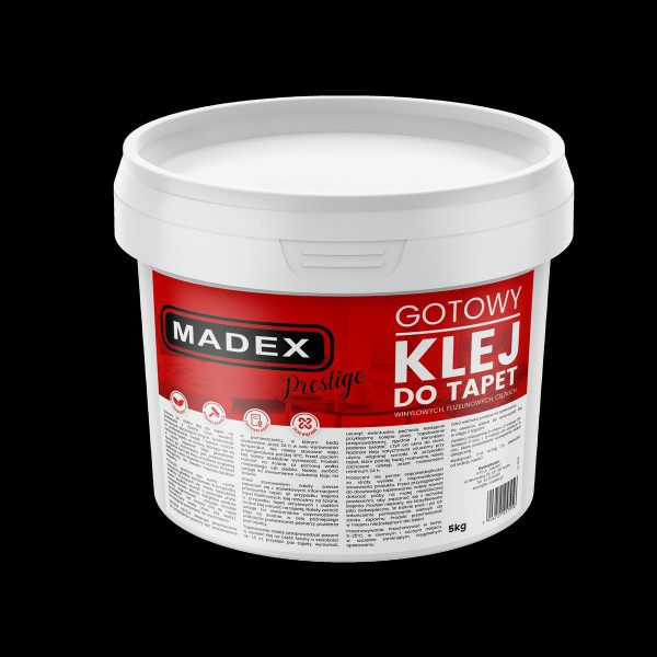 Klej Do Tapet Madex Prestige 5 kg - Sklep z Klejami Tapetydekoracje.pl