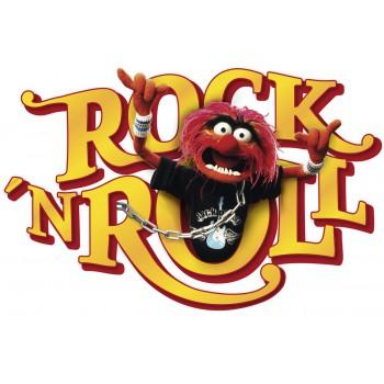 Naklejka Komar 14010 Muppets Rock'n'R  | (50 x 70 cm) - Sklep z Naklejkami ściennymi Tapetydekoracje.pl