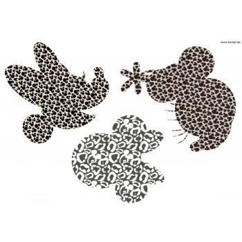 Naklejka Komar 14008 Minnie Art  | (50 x 70 cm) - Sklep z Naklejkami ściennymi Tapetydekoracje.pl