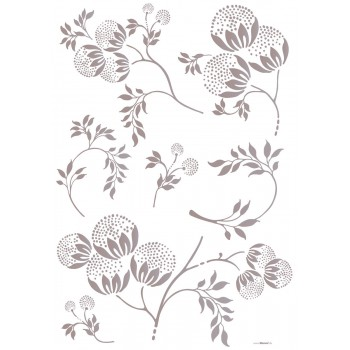 Naklejka Komar 17712 Bellissima  | (100 x 70 cm) - Sklep z Naklejkami ściennymi Tapetydekoracje.pl