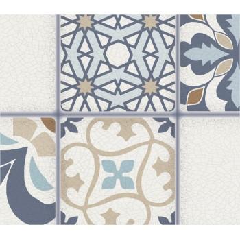 Panele Ścienne PCV 17307 Kafelki Marokko (955 x 480 mm) - Sklep z Panelami Ściennymi PCV Tapetydekoracje.pl