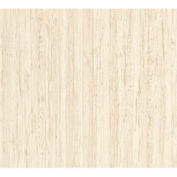 Tapeta Kremowe Drewniane Deski AS-Creation AS327141 - Sklep z Tapetami na ścianę Tapetydekoracje.pl