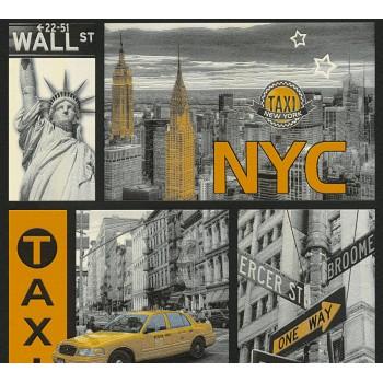 Tapeta Symbole Nowego Jorku AS-Creation AS300451 - Sklep z Tapetami na ścianę Tapetydekoracje.pl