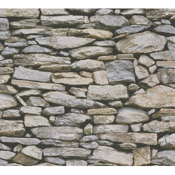 Tapeta Kamienny Mur AS-Creation AS958202 - Sklep z Tapetami na ścianę Tapetydekoracje.pl