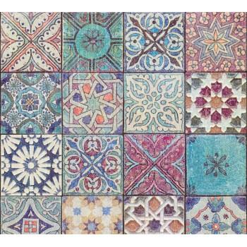 Tapeta Mozaika Kolorowa AS-Creation AS362051 - Sklep z Tapetami na ścianę Tapetydekoracje.pl