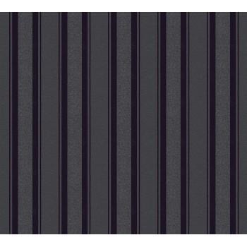 Tapeta strukturalna, czarna, as-creation-AS361673 - Sklep z Tapetami na ścianę Tapetydekoracje.pl