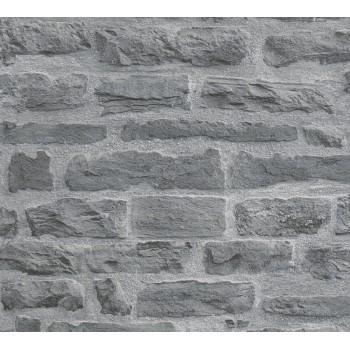 Tapeta strukturalna, szara, as-creation-AS319442 - Sklep z Tapetami na ścianę Tapetydekoracje.pl
