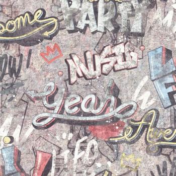 Tapeta Graffiti 403815 - Sklep z Tapetami na ścianę Tapetydekoracje.pl