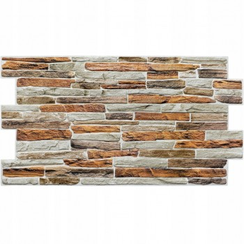 Panele Ścienne PCV 17303 Kamień Gibraltar (980 x 500 mm) - Sklep z Panelami Ściennymi PCV Tapetydekoracje.pl