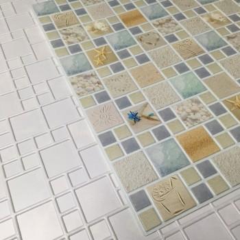 Panele Ścienne PCV 13979 Mozaika Laguna (955 x 480 mm) - Sklep z Panelami Ściennymi PCV Tapetydekoracje.pl