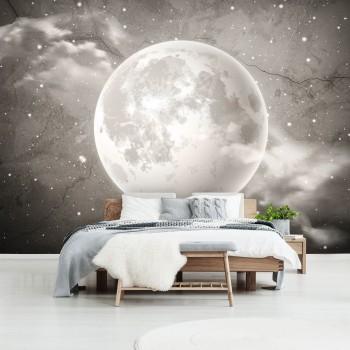 Fototapeta  13575 Księżyc na betonie II - Sklep z Fototapetami Tapetydekoracje.pl