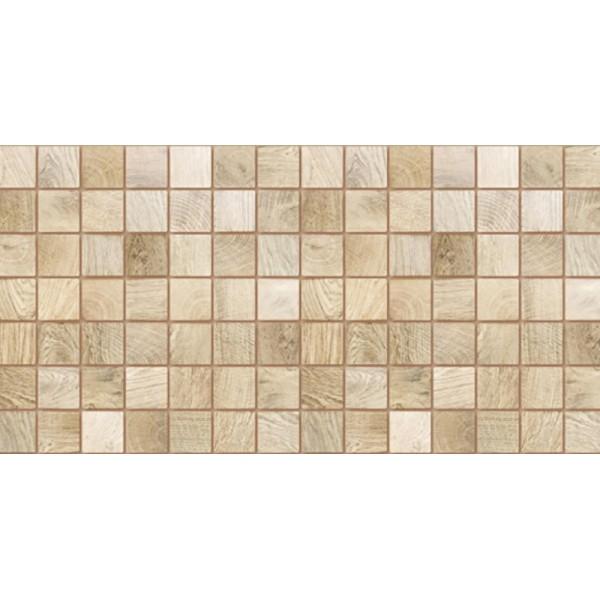 Panele Ścienne PCV 13961 Kafelki Drewno Bielone (980 x 480 mm) - Sklep z Panelami Ściennymi PCV Tapetydekoracje.pl