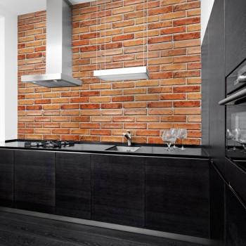 Panele Ścienne PCV 10442 Czerwona Cegła Rustykalna (960 x 480 mm) - Sklep z Panelami Ściennymi PCV Tapetydekoracje.pl