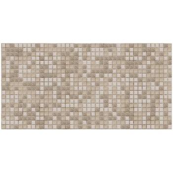 Panele Ścienne PCV 09499 Mozaika Brązowa (955 x 480 mm) - Sklep z Panelami Ściennymi PCV Tapetydekoracje.pl