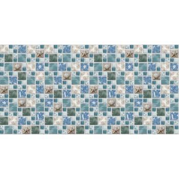 Panele Ścienne PCV 07520 Mozaika Morska Bryza (955 x 480 mm) - Sklep z Panelami Ściennymi PCV Tapetydekoracje.pl