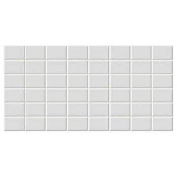 Panele Ścienne PCV 09956 Kafelki Białe Prostokąty (960 x 480 mm) - Sklep z Panelami Ściennymi PCV Tapetydekoracje.pl