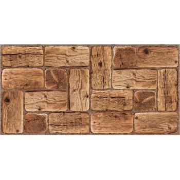 Panele Ścienne PCV 17656 Bale Drewno Sosna (960 x 479 mm) - Sklep z Panelami Ściennymi PCV Tapetydekoracje.pl