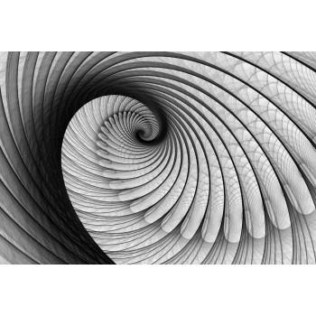 Fototapeta  322 P4  Abstrakcja czarno-biała (254 x 184 cm) - Sklep z Fototapetami Tapetydekoracje.pl