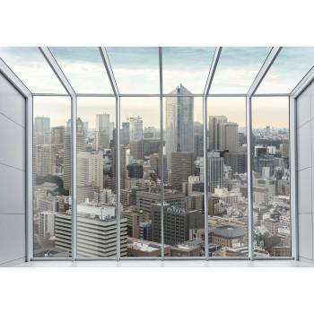 Fototapeta  13021 P4  Nowy Jork Penthouse (254 x 184 cm) - Sklep z Fototapetami Tapetydekoracje.pl