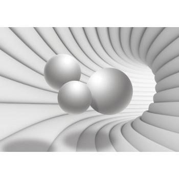 Fototapeta  10141 P4  Trzy Kule 3D (254 x 184 cm) - Sklep z Fototapetami Tapetydekoracje.pl