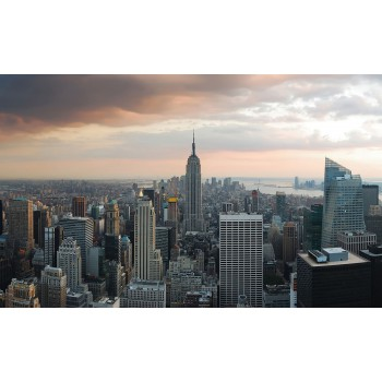 Fototapeta  10149 P4  Nowy York panorama (254 x 184 cm) - Sklep z Fototapetami Tapetydekoracje.pl