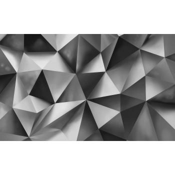 Fototapeta  10162 P4  Trójkąty 3D (254 x 184 cm) - Sklep z Fototapetami Tapetydekoracje.pl