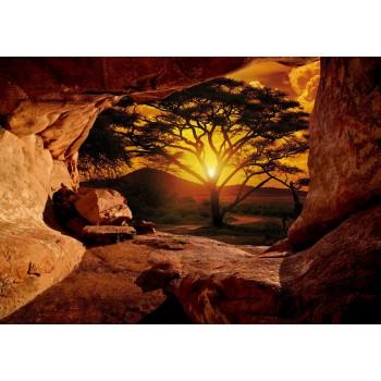 Fototapeta  10260 P4  Zachód słońca w kanionie (254 x 184 cm) - Sklep z Fototapetami Tapetydekoracje.pl