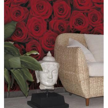 Fototapeta Komar 4-077 Roses (194 x 270 cm) - Sklep z Fototapetami Tapetydekoracje.pl
