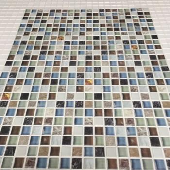 Panele Ścienne PCV 07058 Mozaika Islandia (955 x 480 mm) - Sklep z Panelami Ściennymi PCV Tapetydekoracje.pl