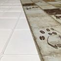 Panele Ścienne PCV 10943 Kafelki Espresso (964 x 484 mm) - Sklep z Panelami Ściennymi PCV Tapetydekoracje.pl