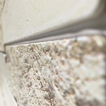 Panele Ścienne PCV 13971 Cegła Licowana Beżowa (980 x 490 mm) - Sklep z Panelami Ściennymi PCV Tapetydekoracje.pl