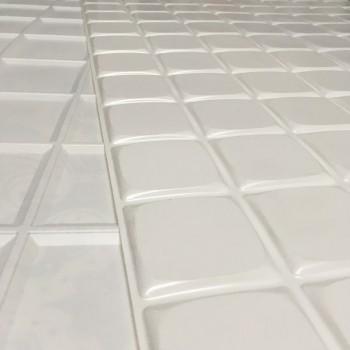 Panele Ścienne PCV 09957 Kafelki Kostki Lodowe (960 x 480 mm) - Sklep z Panelami Ściennymi PCV Tapetydekoracje.pl