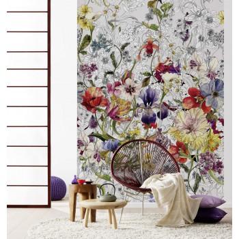 Fototapeta Kwiatowe Pole Komar 4-201 Flora (184 x 254 cm) - Sklep z Fototapetami na ścianęTapetydekoracje.pl